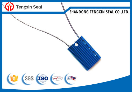 Security bar code cable seal TX-CS104