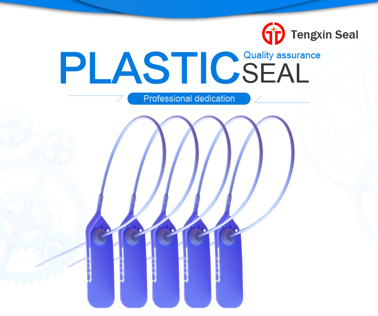 TX-PS002 single use plastic clothing lock seal