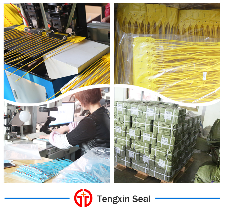 Plastic seal factory production details