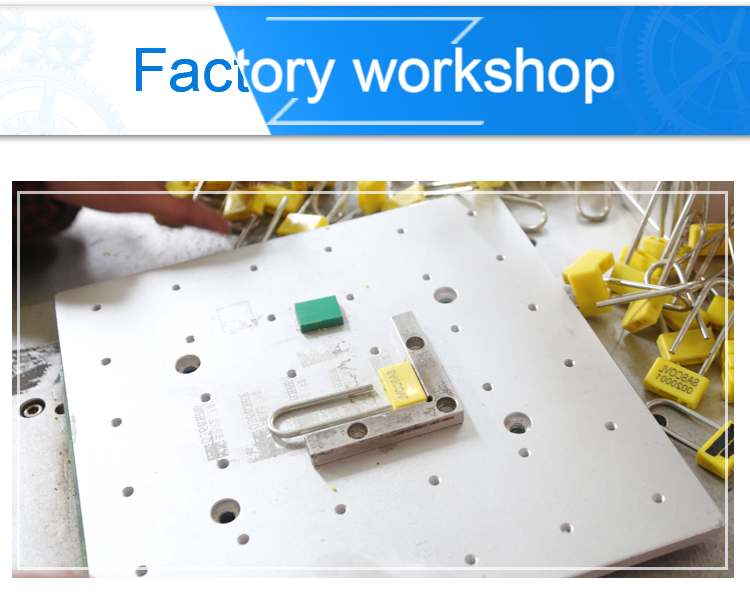 padlock seal factory workshop