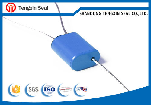 Smooth ABS Coated Pull Wire Plasitc Security Seal